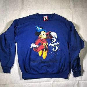 RARE VTG Mickey INC Sorcerer Disney World T shirt